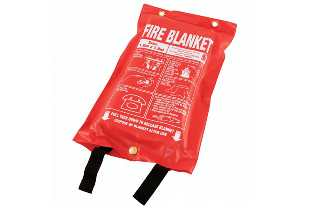 Fire Blanket for Kitchen Fires