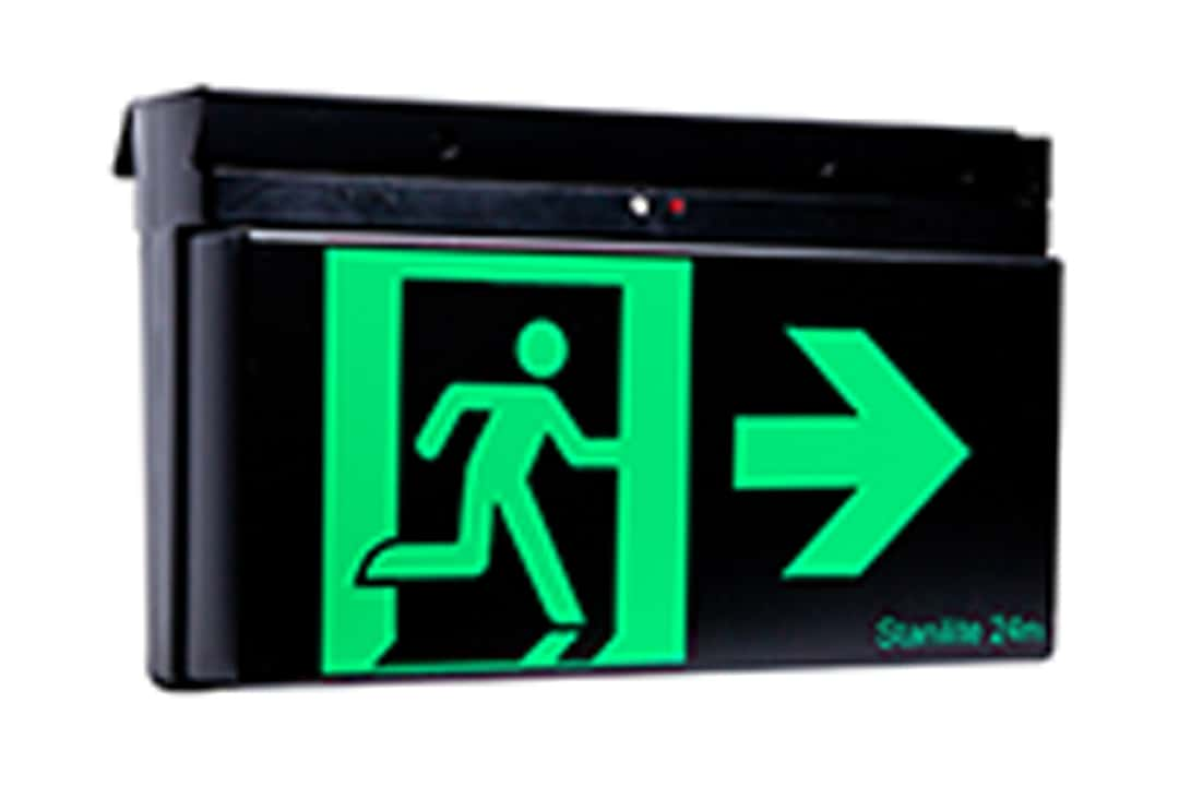 Stanilite quickfit LED theatre exit light