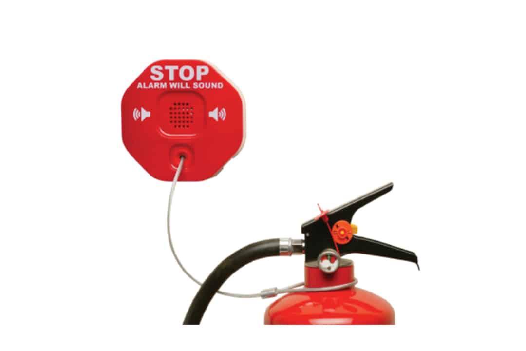 Anti Theft Device for Fire Extinguisher
