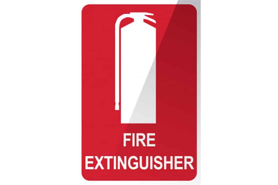 Fire Extinguisher Location Signage