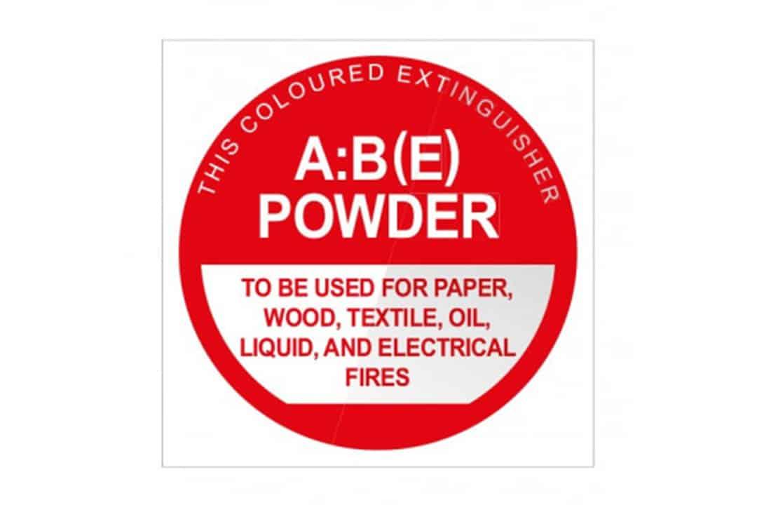Fire Extinguisher ID Signage