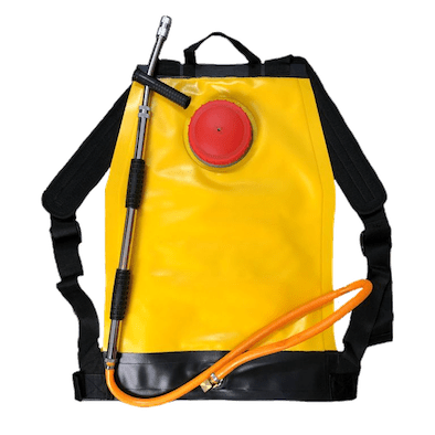 Collapsible Knap Sack for bush fire fighting