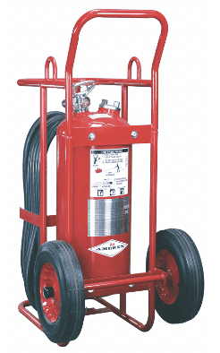 Wheeled Dry Chemical Powder Fire Extinguisher for fire fighting