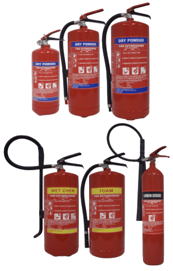 SOLAS Fire Extinguishers for Marine Usage