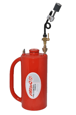 Fire Bug Dip Torch for starting a fire burn off