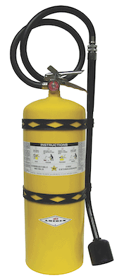 Class D Dry Chemical Powder Fire Extinguisher for metal fires
