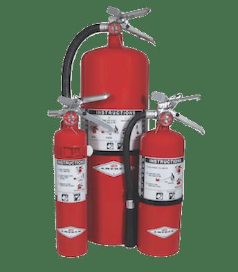 Amerex Class BE Purple K Fire Extinguisher