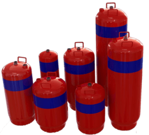 Foam Fire Suppression Cylinders