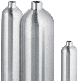 Sample Cylinders for Hydrostatic Pressure Testing