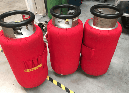 LPG Hot Air Balloon Cylinders for 10 Yearly Testing