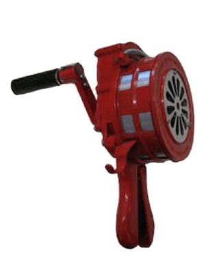 Hand Held Siren for emergency evacuation from building
