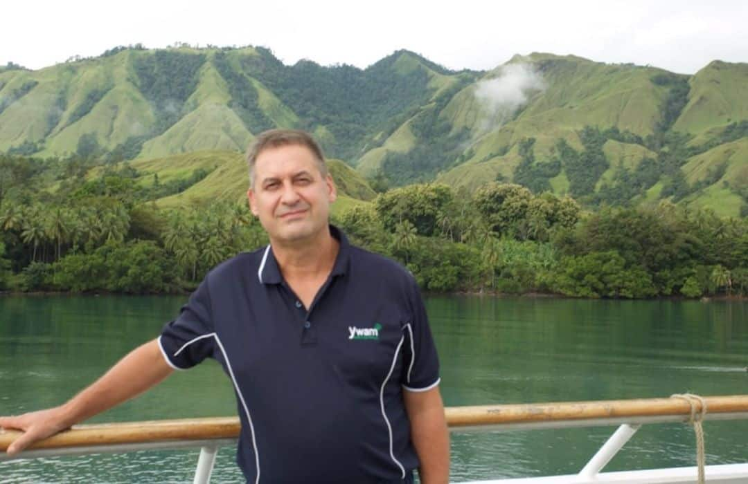 YWAM man at Amazon Bay PNG