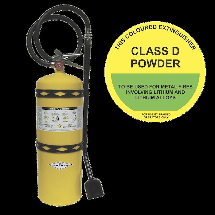 Class D Fire Extinguisher