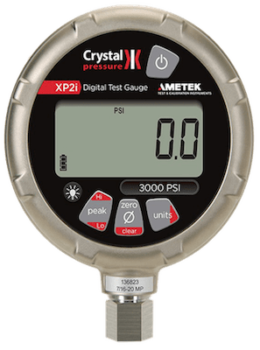 Crystal XP2i Digital Pressure Gauge for Hydrostatic Pressure Testing