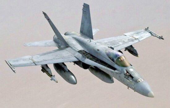 Aviation Component Maintenance F18 Hornet