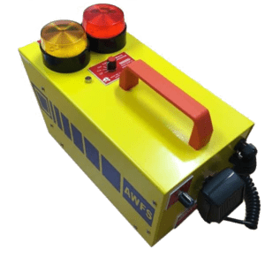 Portable evacuation siren