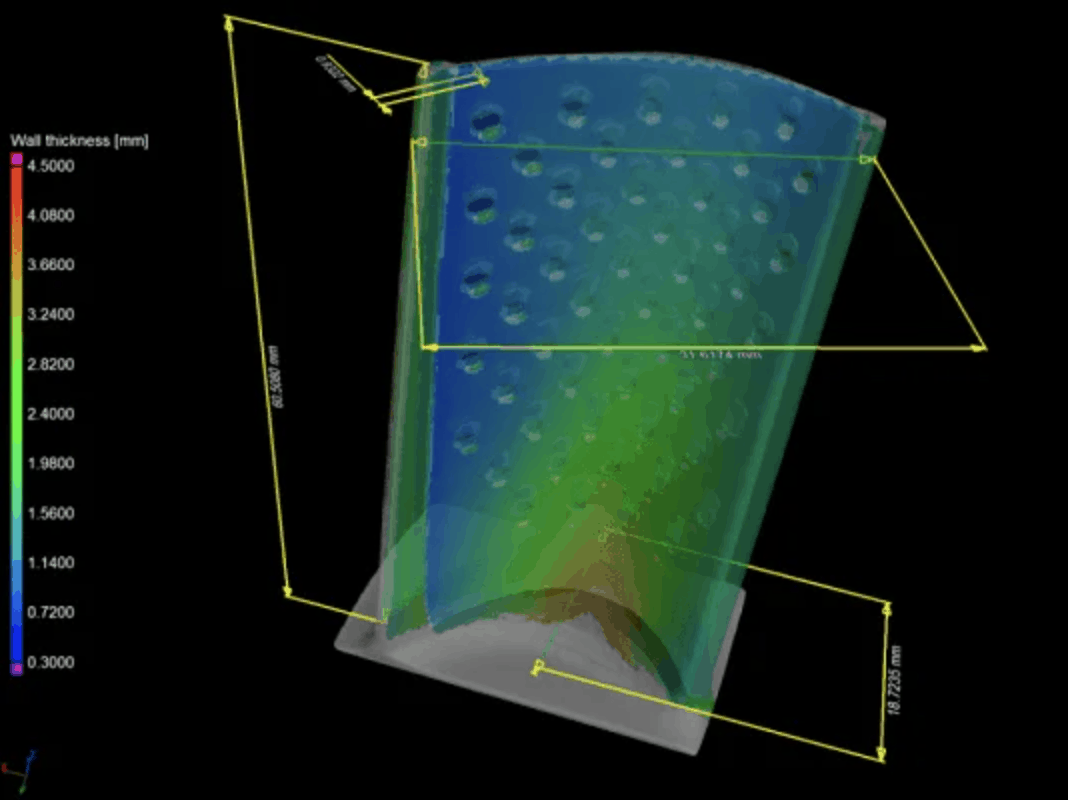 using X-ray to test aviation components