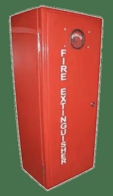 Fiberglass Lockable Fire Extinguisher Cabinet