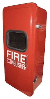 Fiberglass Non Lockable Fire Extinguisher Cabinet