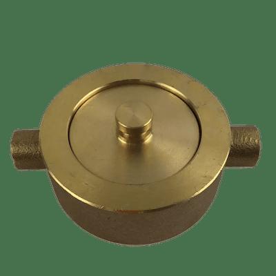 Hydrant Cap Brass 65mm