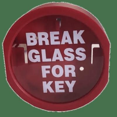 Plastic Break Glass Key Holder
