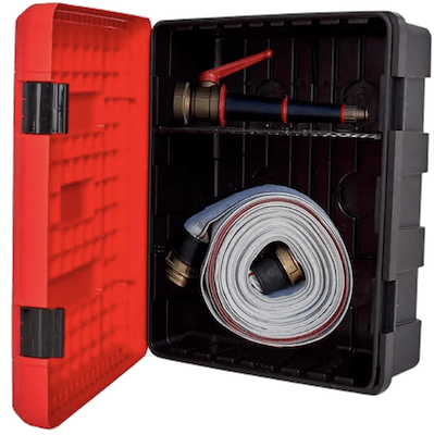 Poly Fire Hose Reel Cabinet