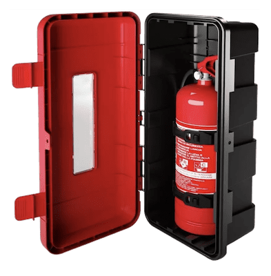 Poly Non Lockable Fire Extinguisher Cabinet