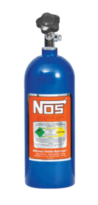 Nitrous Oxide Cylinders used for racing vehicles
