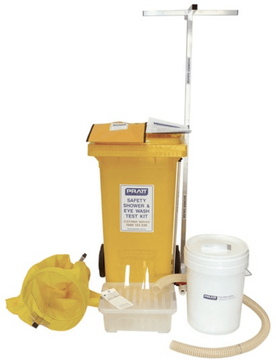 Test Kit for Emergency Showers and Eye Wash Stations